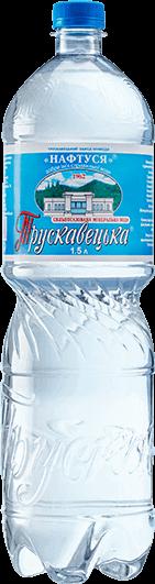 Трускавецька мінеральна вода сильногазована пет 1.5л