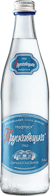 Трускавецька мінеральна вода нсильногазована скло 0.5л